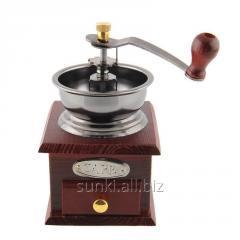 Кофемолка SUNROZ Manual Wooden Coffee Grinder Мини
