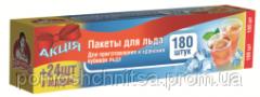 "Packages for ice ТМ ""Помощница"" 180 + 24"