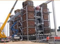 Boilers utilizers of waste of teplagazovy turbines