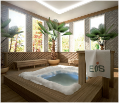 Ледяная прорубь EOS Wellness и SPA