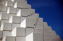 Foam concrete block, foam concrete. Delivery.