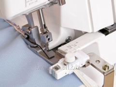 Device overlock for suturing gum