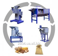 Zařízení pro zpracování obilnin