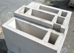Блоки вентиляционные железобетонные, бетон,