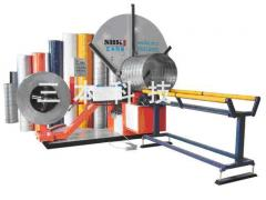 Machine spiral navivnoy fashions. SBTF-1500