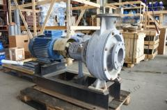 Pump console for effluents CFS 160-10