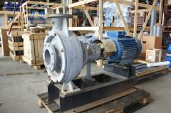 Pump console for effluents CFS 160-45