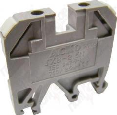 Клеммник JXB-35/35 (серый)
