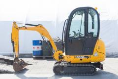 Mini excavator JCB 8018.2011 r.