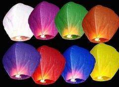 Небесный фонарик (фонарик желаний) оптом