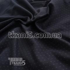 Fabric Knit Jersey print (dark blue)