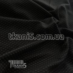 Fabric Knit Jersey print (black)