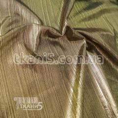Cloth Tricot disco style (gold on black)