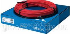 Нагревательный кабель DEVIcomfort 10T, мощность 400В, (2,4/3,0 м.кв.)