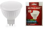 Светодиодная лампа Ultralight MR16-6W-Y G5.3