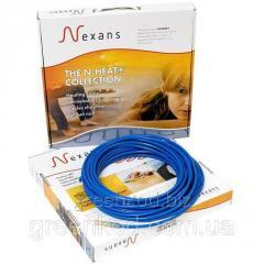 Нагревательный двухжильный кабель Nexans TXLP/2R, 17Вт/м, мощность 1250 Вт, (5,4/7,2/9,1 кв.м)
