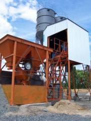 Nodes rastvoro-betony RBU, Rastvorobetonomesiteli