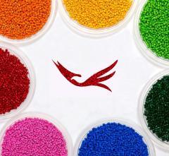 Цветные красители для полимеров, суперконцентраты
