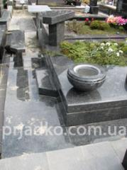 Цветники на кладбище