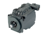 Axial and piston hydraulic pumps of a series 45
