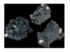 Axial and piston adjustable hydromotors 51, 51-1