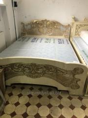 """Кровать """"Барвинок2 """" с натурального дерева"""