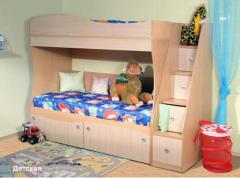 Мебель детская ДК-03, корпусная мебель, мягкая