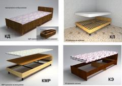 Корпусная мебель, кровати деревянные, кровати