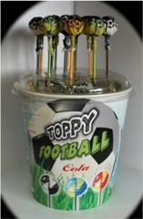Конфета на палочке Сатурн Топпі Футбол