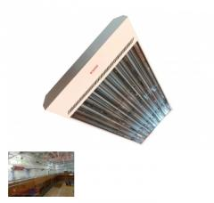Industrial electric infrared heater TeploV U9000