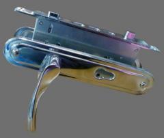 Ручки на двери ZUBER L801 CP без сердцевины