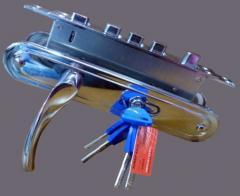 Ручки на двери ZUBER L801 CP