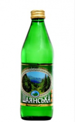 """Минеральная вода """"Шаянская"""" 0.5 л"""