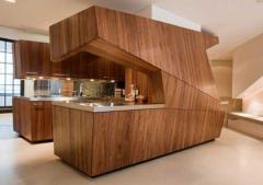 Кухни из натурального дерева