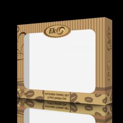 Коробка картонная для полотенец Coffee...