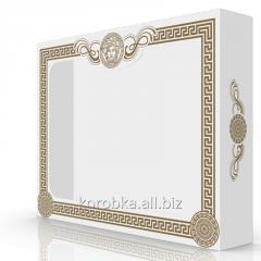 Коробка картонная для полотенец bamboo coton 45К-04001