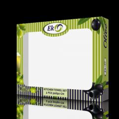 Коробка картонная для полотенец olive...