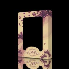 Коробка картонная для полотенец Flower 70К-07002