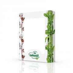 Коробка картонная для полотенец bamboo...