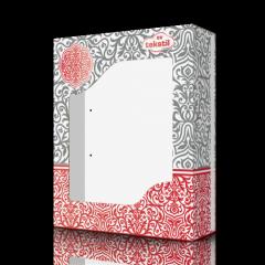 Коробка картонная для полотенец Silver...