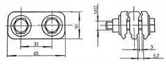 Зажим соединительный (ЗС) - КС-047-3