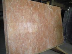 Мрамор DIANA ROSA 600х300х20 мм розовый