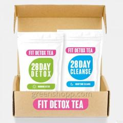 Чай для похудения Fit Detox Tea Фит Детокс Ти
