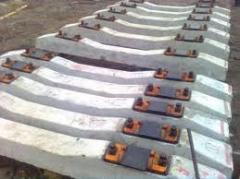 Pads are railway