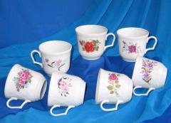 Чашки производства Сумского фарфорового завода