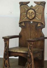Кресла дубовые для ресторана, кресла из массива