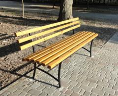 Benches are park