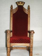 Меблі состаренная, крісло дубове під старовину,