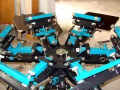 Шелкотрафаретный ручной станок 6х6 для качественных работ в шелкографии