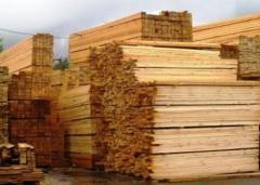 Board not cut pine 250 × 100 mm.